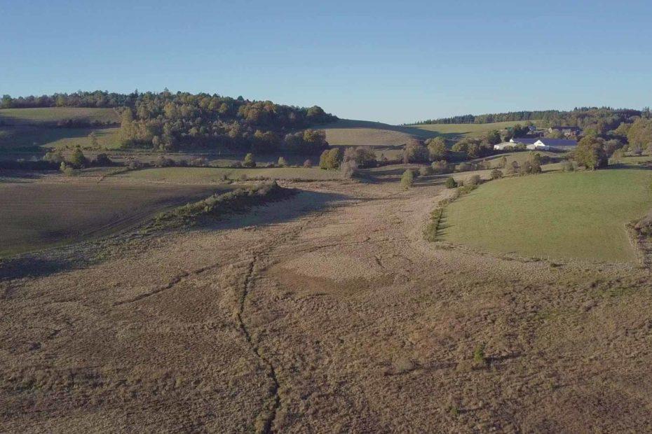 Site archéologique gallo-romain Les Cars - Paysage du Plateau de Millevaches